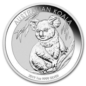 Moneda Koala de Plata