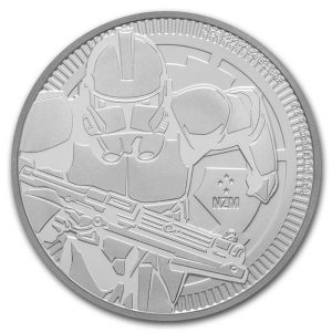 Moneda Clone Trooper de Plata