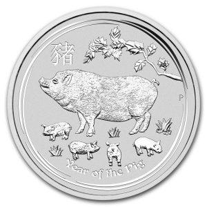 Moneda Año Lunar del Cerdo