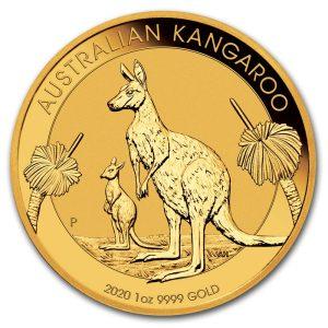 Moneda de Oro Canguro